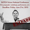 BUTCH Voices Press Release: Call for Proposals Deadline Extended